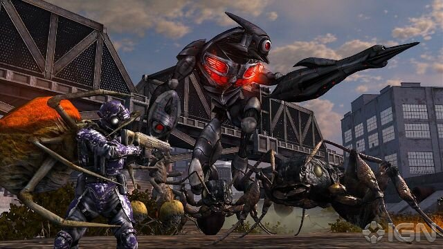 Earth Defense Force будет выпущен на PlayStation 4